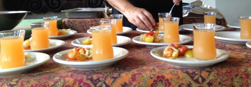 Granada Spain Yellow Gazpacho