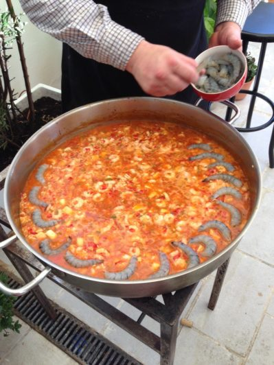 Recipe: Paella (Spanish Rice with Seafood) — Peggy Markel ...