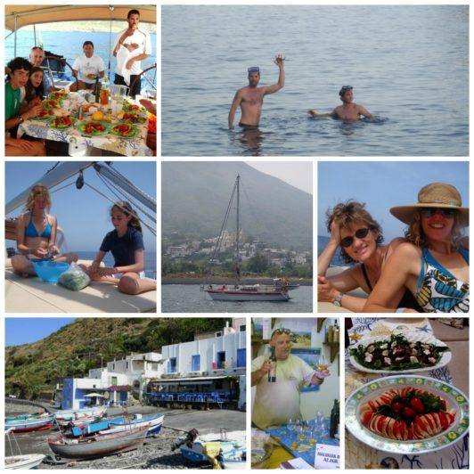 Aeolian Islands Collage