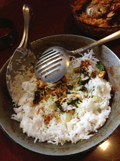 Amma's lemon rice