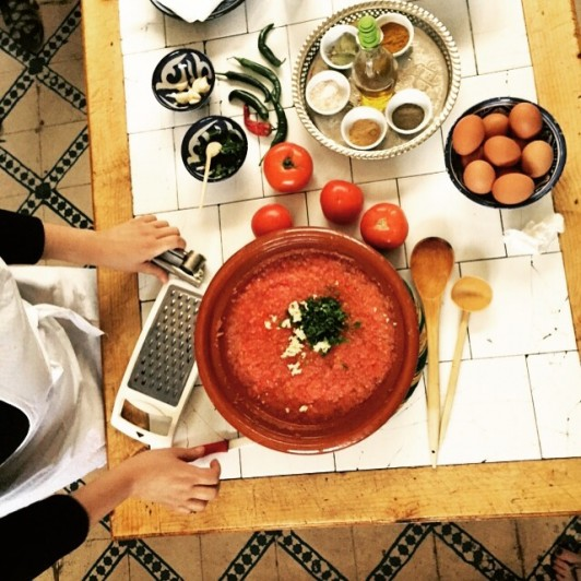 shacko berber omelette morocco
