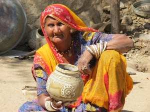 India potter's wife