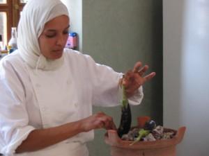 Bahia w eggplants Morocco