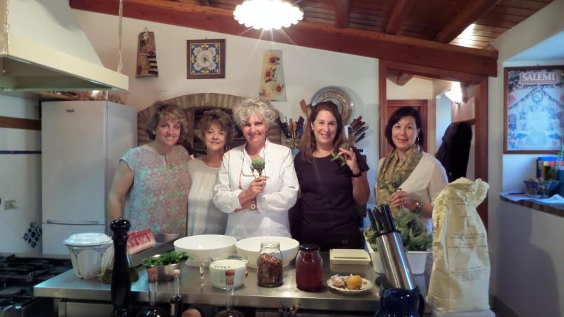 artichoke prep Sicily