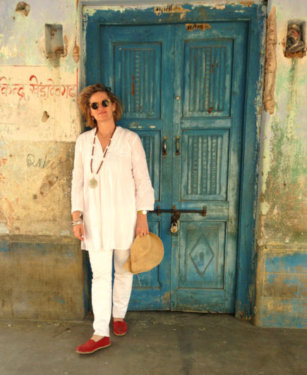 Peggy Morocco Blue Door