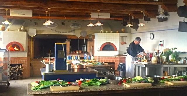 cucina al focolare
