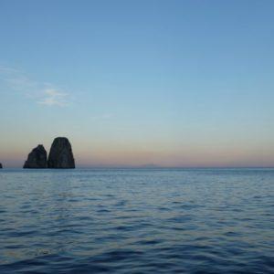 Faraglione in Sunset - Amalfi Coast, Italy - Peggy Markel's Culinary Adventures