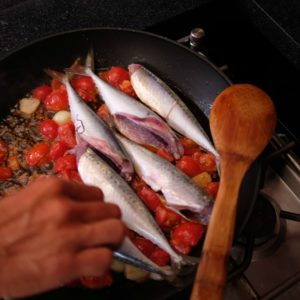 fish in tomatoes in pan amalfi ss resize