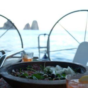 Food and Faraglione - Amalfi Coast, Italy - Peggy Markel's Culinary Adventures